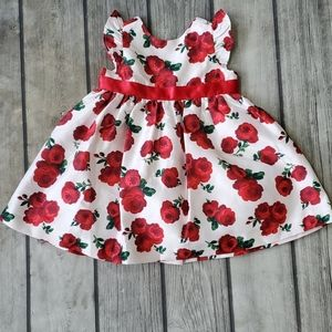 NWT Girl Gymboree Roses Easter Dress 3-6 mth